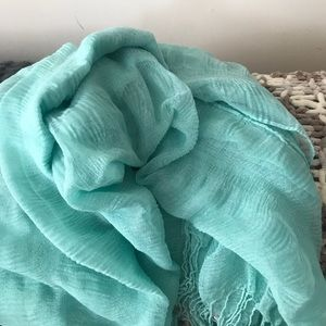 Summer colored and lightweight scarves